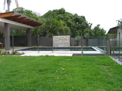 Glass Pool Fencing Semi Frameless Design 8-28