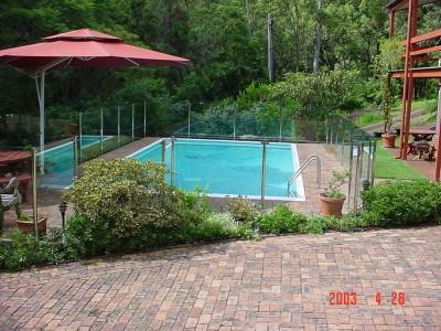 Glass Pool Fencing Semi Frameless Design 8-31