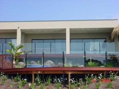 Glass Pool Fencing Semi Frameless Design 8-33