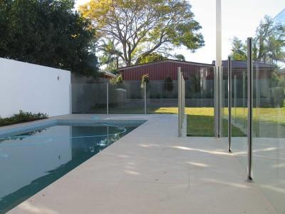Glass Pool Fencing Semi Frameless-5