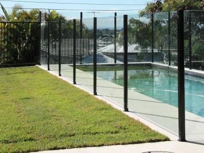 Glass Pool Fencing Semi Frameless-6