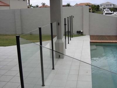 Glass Pool Fencing Semi Frameless-8