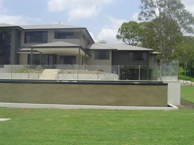 Glass Pool Fencing Semi Frameless Design 8 Stainless Steel-11