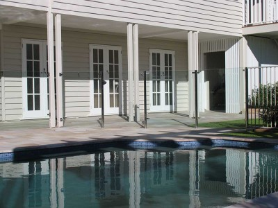 Glass Pool Fencing Semi Frameless Design 8 Stainless Steel-18