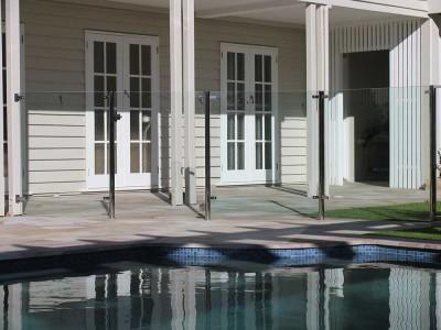 Glass Pool Fencing Semi Frameless Design 8 Stainless Steel-19