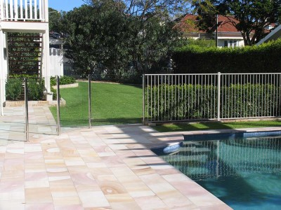 Glass Pool Fencing Semi Frameless Design 8 Stainless Steel-20