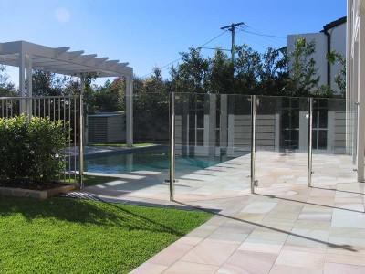 Glass Pool Fencing Semi Frameless Design 8 Stainless Steel-21