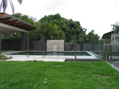 Glass Pool Fencing Semi Frameless Design 8 Stainless Steel-23
