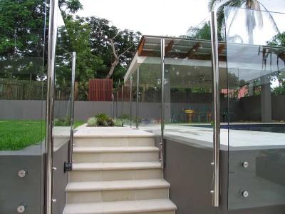 Glass Pool Fencing Semi Frameless Design 8 Stainless Steel-24
